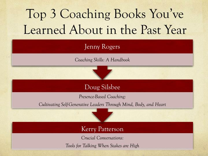 Top 3 Coaching Books You've Learned About in the Past Year