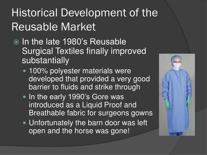 Historical Development of the Reusable Market