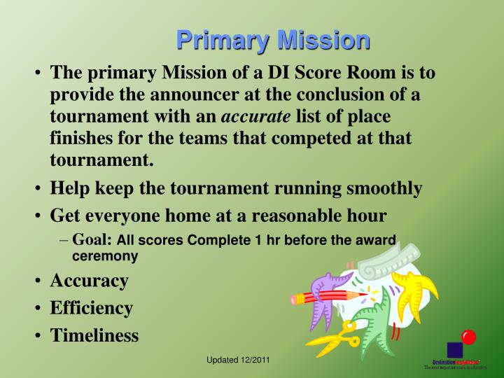 Primary Mission