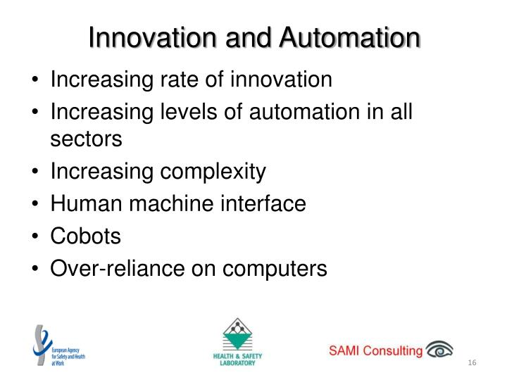 Innovation and Automation