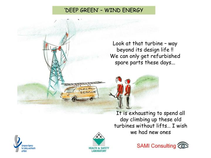 'DEEP GREEN' – WIND ENERGY