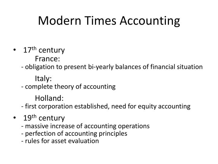Modern Times Accounting