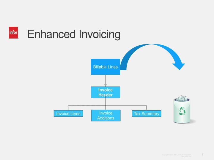 Enhanced Invoicing