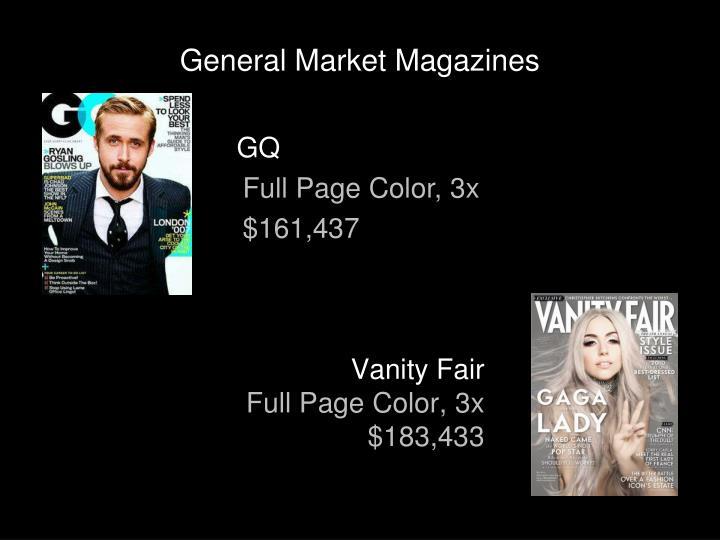 General Market Magazines