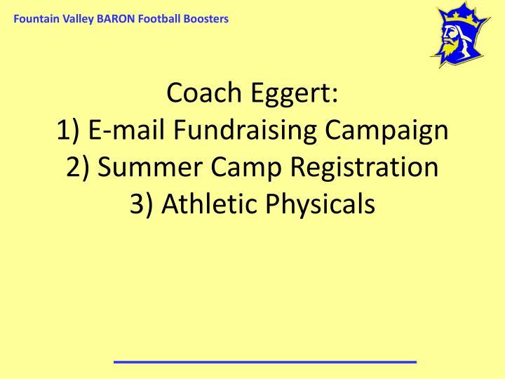 Coach Eggert: