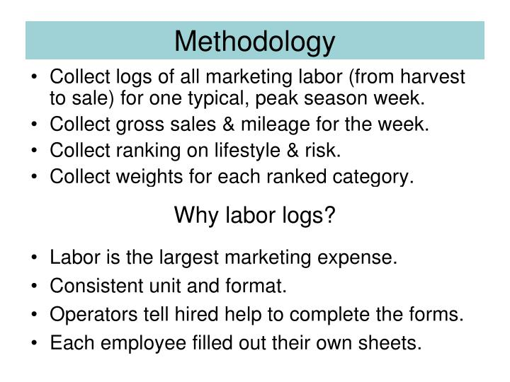 Why labor logs?