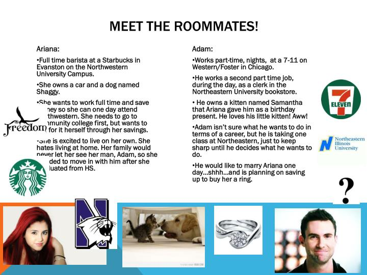 Meet the roommates