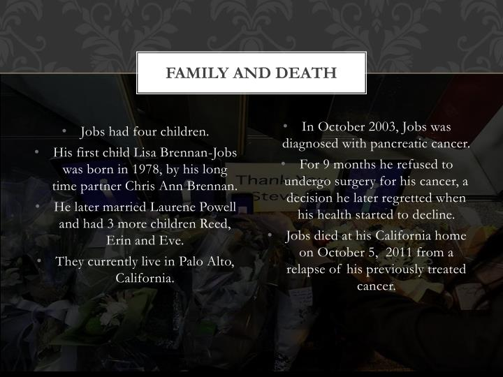 Family And Death