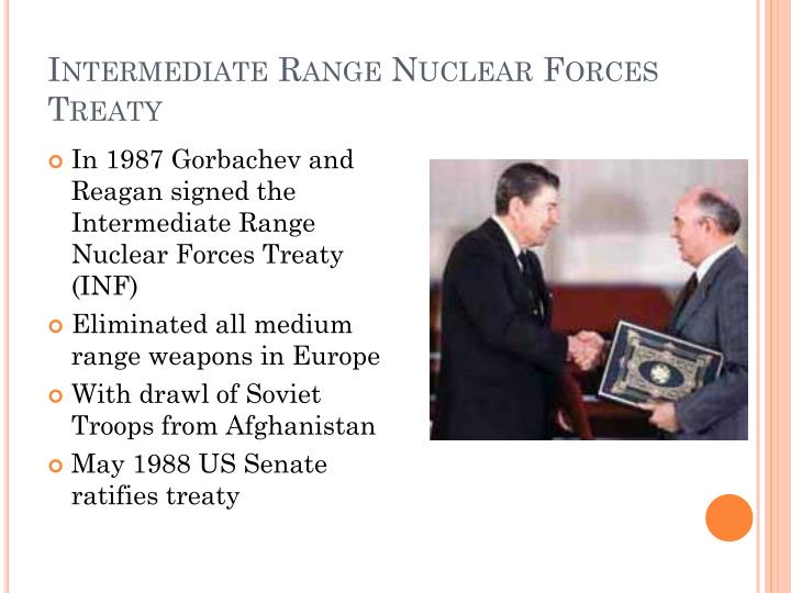 Intermediate Range Nuclear Forces Treaty