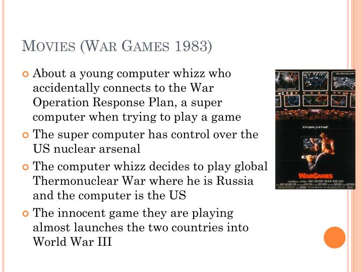 Movies (War Games 1983)