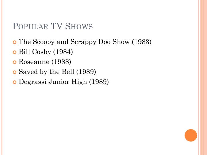 Popular TV Shows