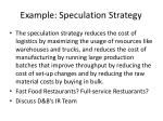 example speculation strategy