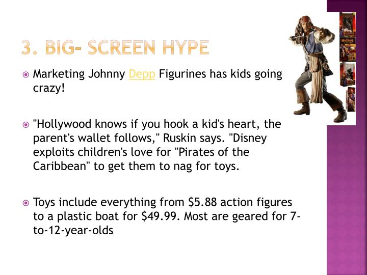 3. Big- screen hype