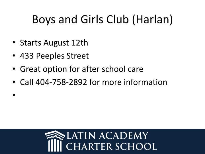 Boys and Girls Club (Harlan)