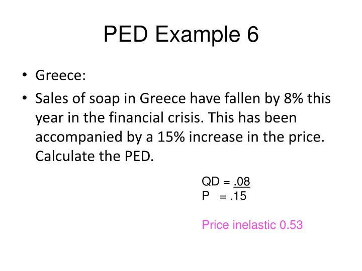 PED Example 6