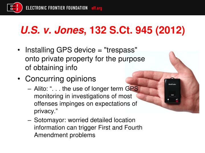 U.S. v. Jones