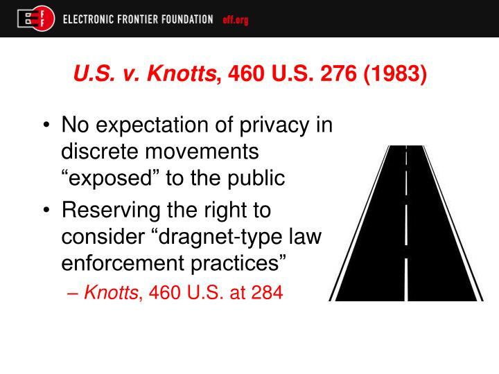 U.S. v. Knotts