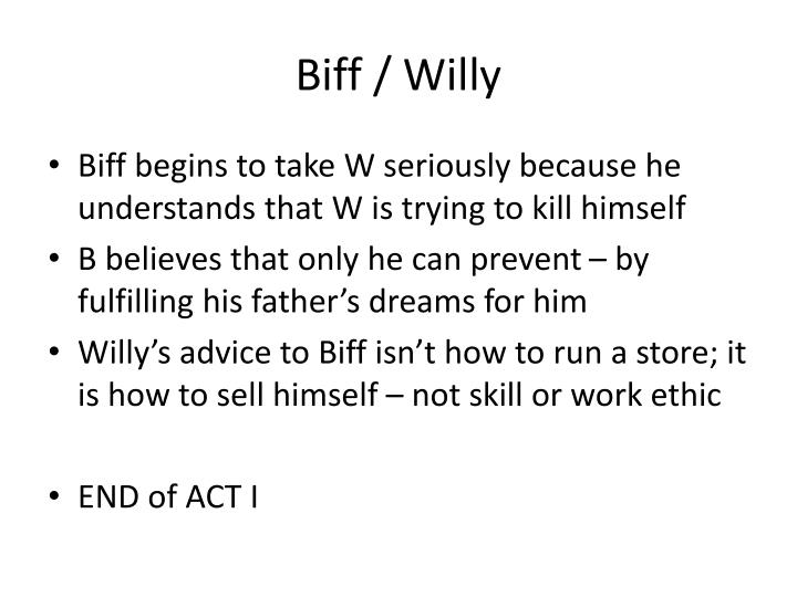 Biff / Willy