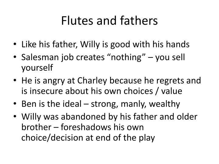 Flutes and fathers