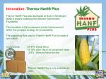 innovation thermo hanf plus