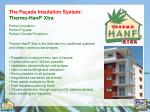 the fa ade insulation system thermo hanf xtra