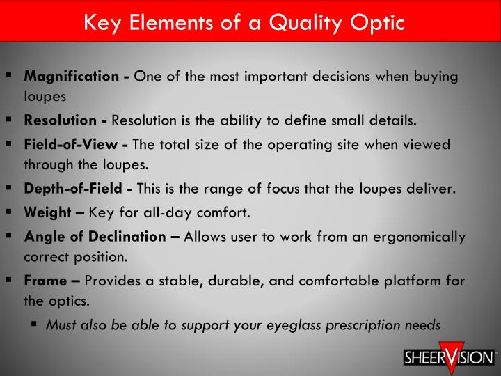 ppt magnification illumination in dentistry powerpoint