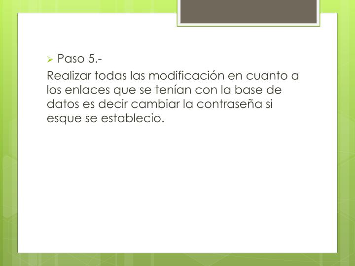 Paso 5.-