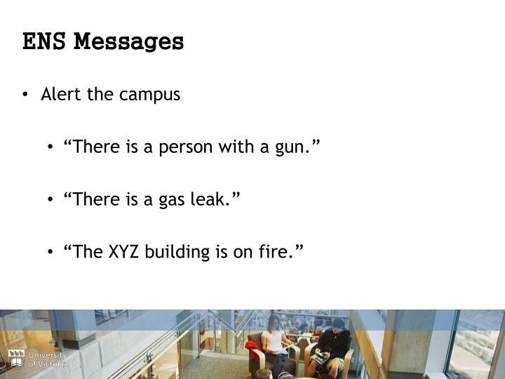 ENS Messages
