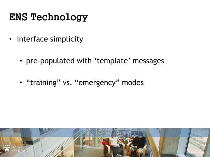 ENS Technology