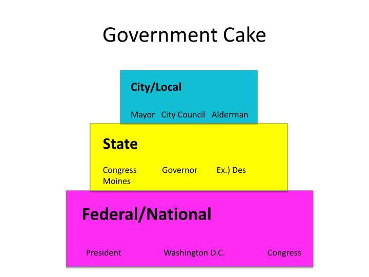 Government Cake