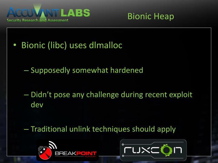 Bionic Heap