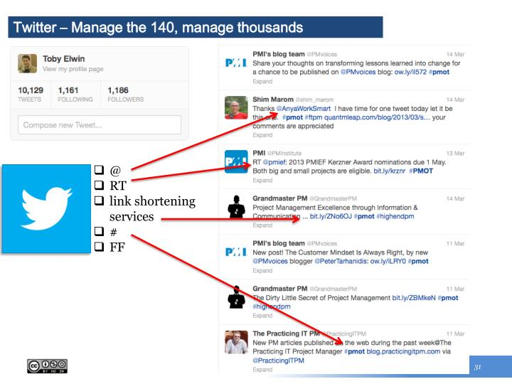 Twitter – Manage the 140, manage thousands