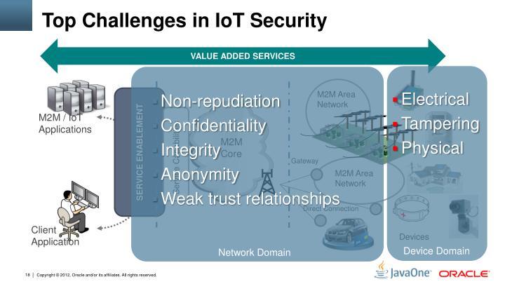 Top Challenges in IoT Security