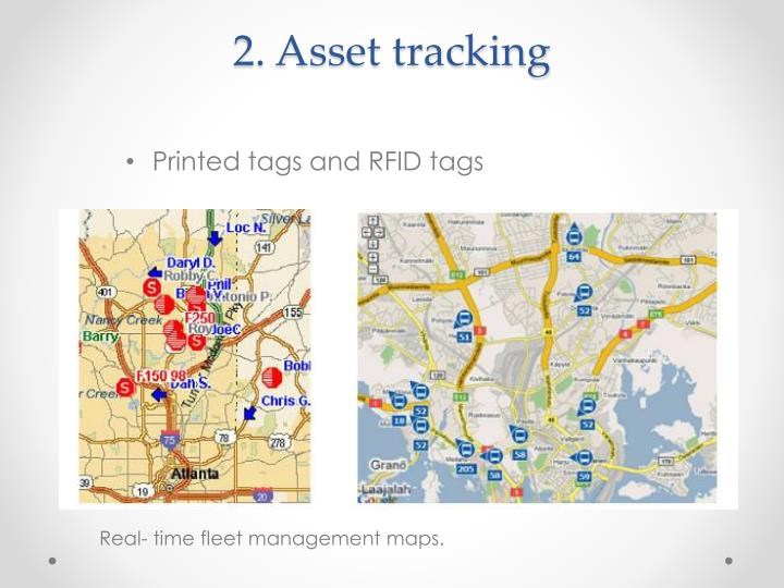 2. Asset tracking