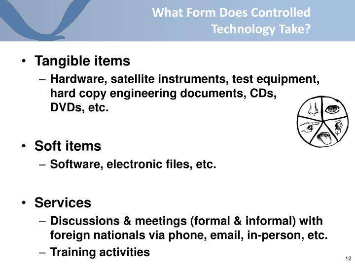 What Form Does Controlled Technology Take?