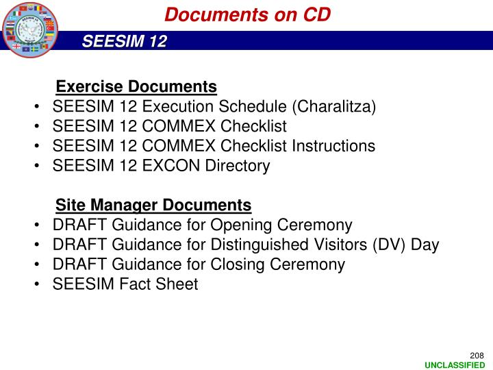 Documents on CD