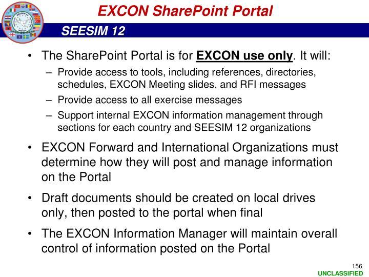 EXCON SharePoint Portal
