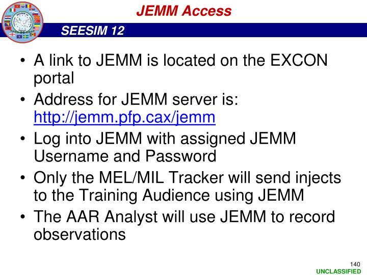 JEMM Access