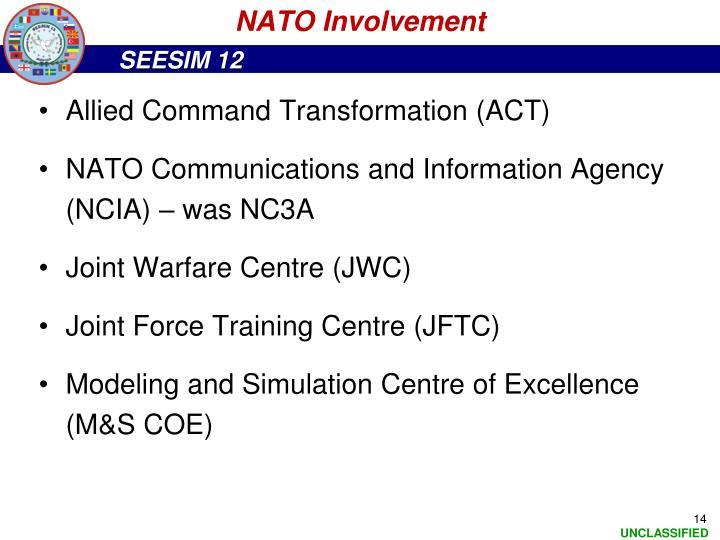 NATO Involvement