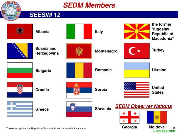 SEDM Members
