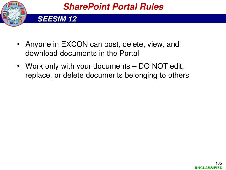 SharePoint Portal Rules