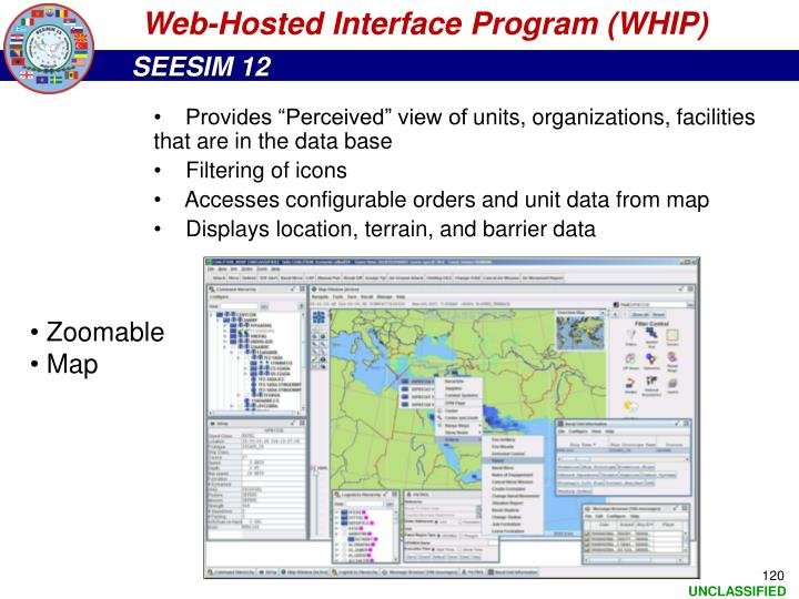 Web-Hosted Interface Program (WHIP)