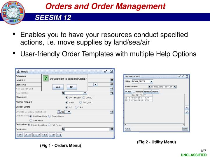 Orders and Order Management