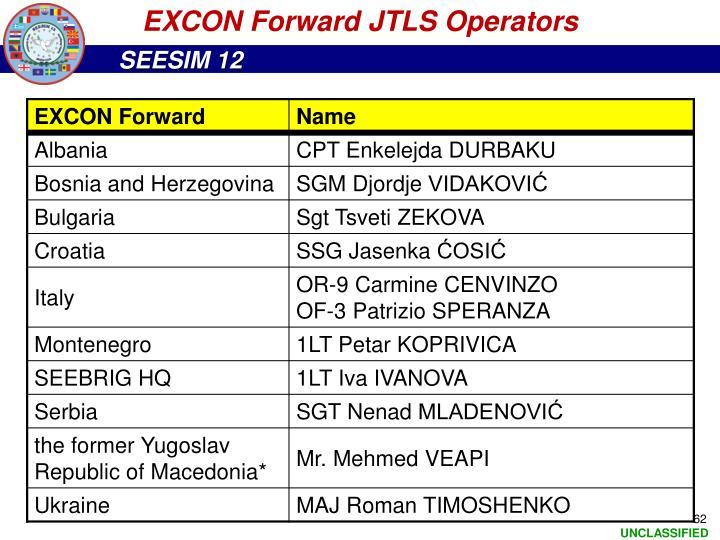 EXCON Forward