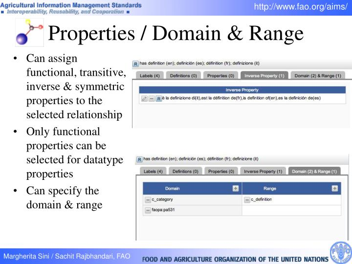 Properties / Domain & Range