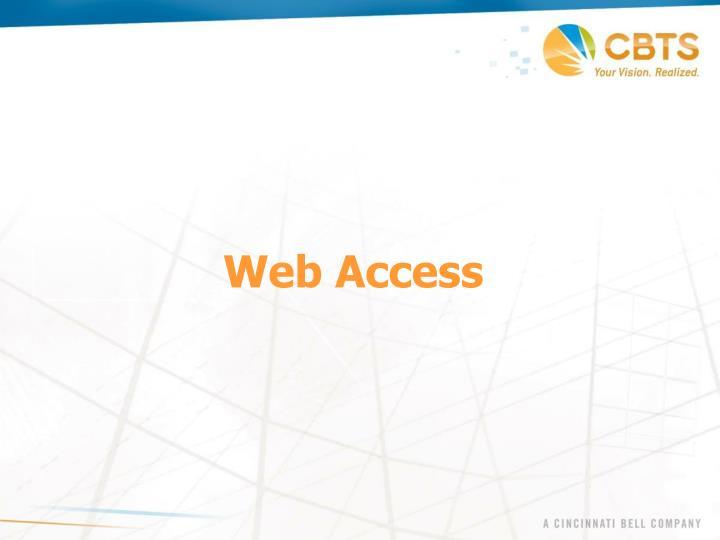 Web Access
