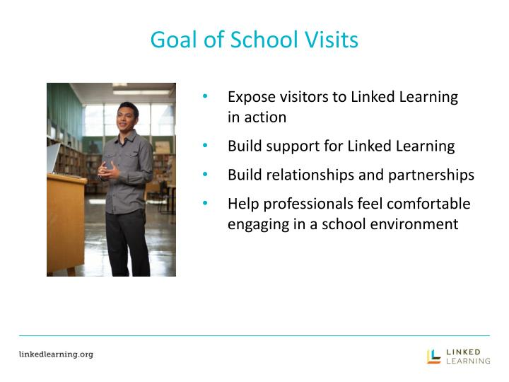 Goal of School Visits