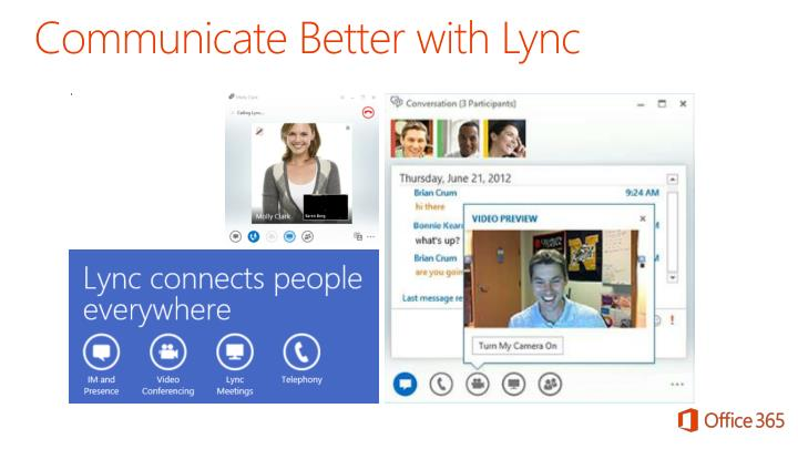 Communicate Better with Lync