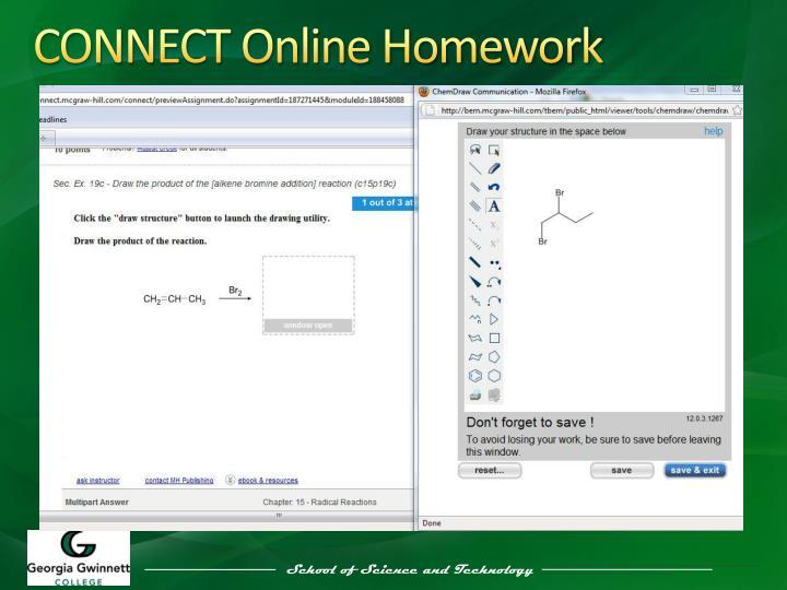 CONNECT Online Homework