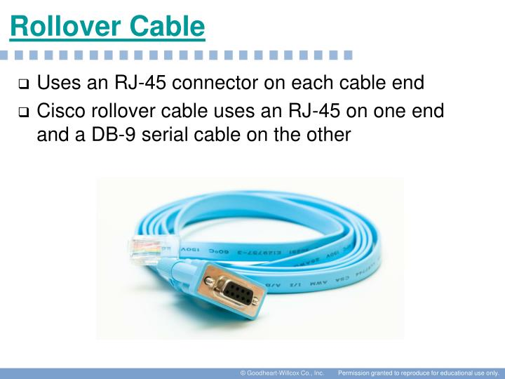 Rollover Cable